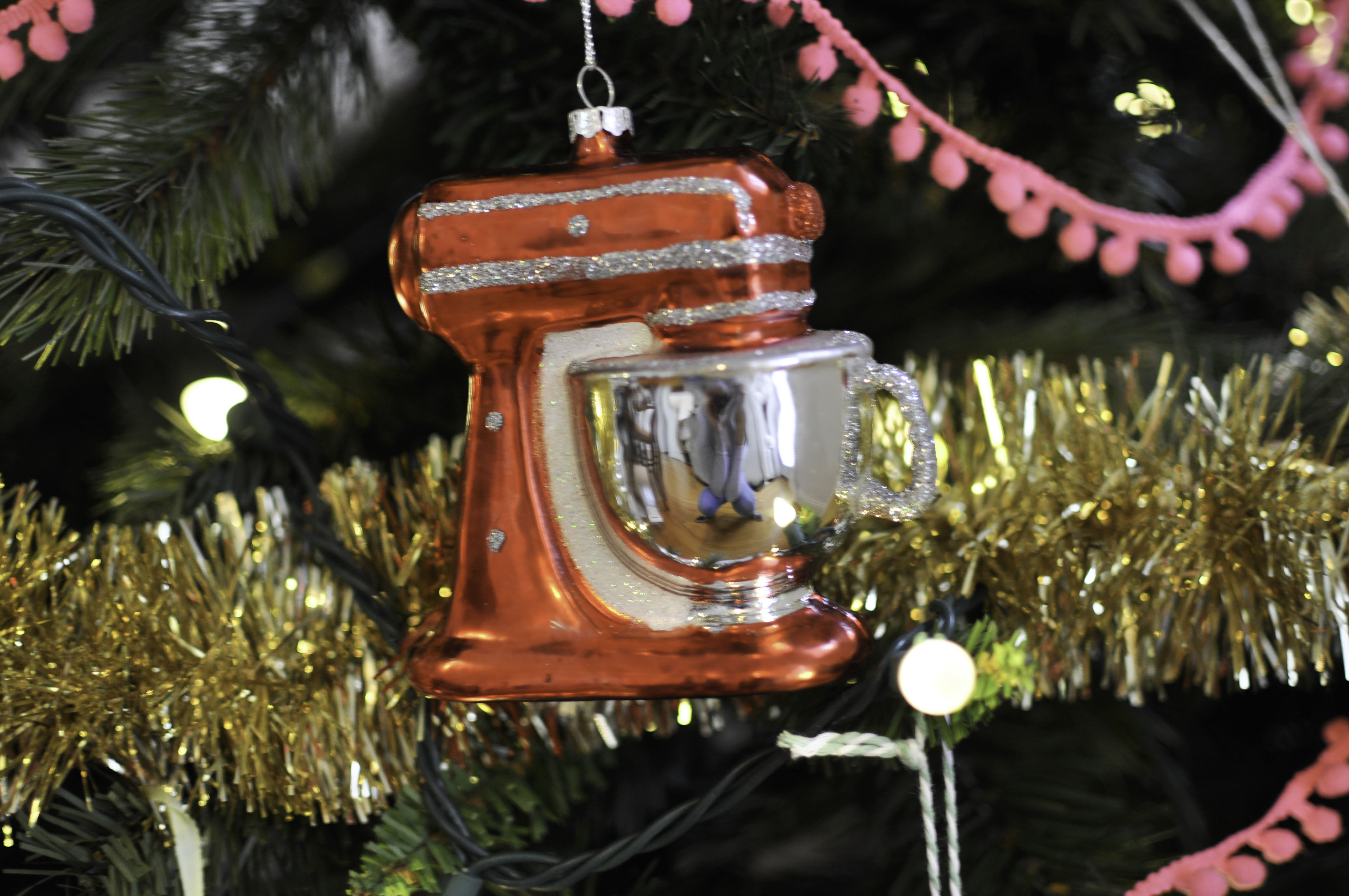 Random Sides Diy Baking Themed Christmas Tree